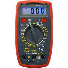 Цифровой мультиметр тестер DT-33B