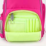 Рюкзак шкільний каркасний Kite Education К19-720S-1 Smart рожевий, фото 8