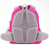 Рюкзак шкільний каркасний Kite Education К19-720S-1 Smart рожевий, фото 4