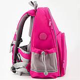 Рюкзак шкільний каркасний Kite Education К19-720S-1 Smart рожевий, фото 5
