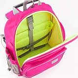 Рюкзак шкільний каркасний Kite Education К19-720S-1 Smart рожевий, фото 7
