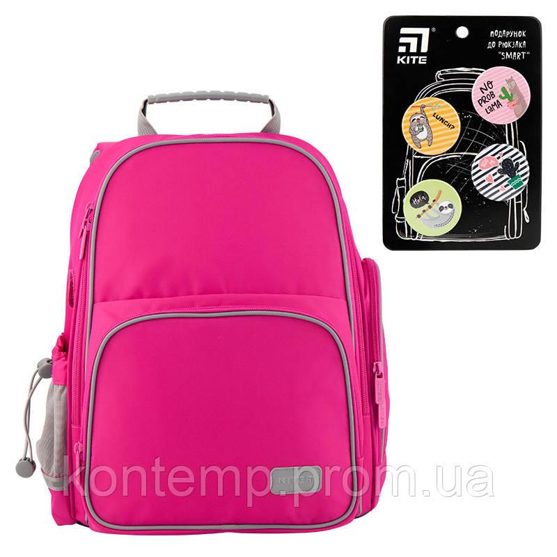 Рюкзак шкільний каркасний Kite Education К19-720S-1 Smart рожевий