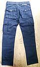 Джинси чоловічі ITENO (Tophero) оригінал р. 34 прямі сині весна/осінь (є інші кольори), фото 3