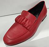 Туфли женские из натуральной кожи от производителя модель КС2008-2, фото 2