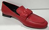Туфли женские из натуральной кожи от производителя модель КС2008-2, фото 4