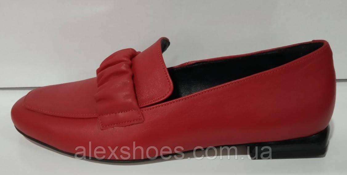 Туфли женские из натуральной кожи от производителя модель КС2008-2