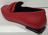 Туфли женские из натуральной кожи от производителя модель КС2008-2, фото 3