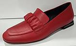 Туфли женские из натуральной кожи от производителя модель КС2008-2, фото 5