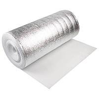 АЛЮФОМ®НПЭ C теплоизоляционный фольгированный материал 8 мм.