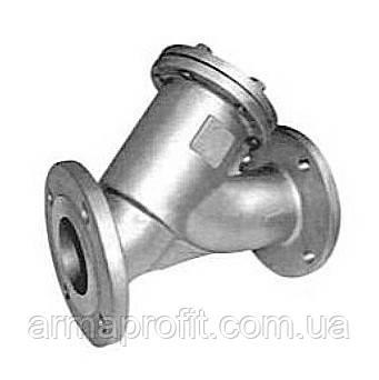 Фильтр нержавеющий фланцевый Ду100 Ру16 AISI 304