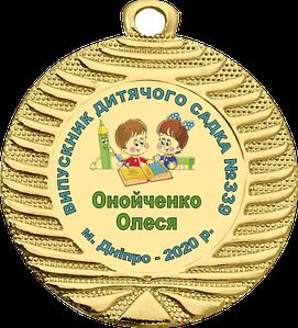 Выпускные медали 40 мм
