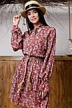 1324/7 Женское повседневное штапельное платье разные цвета, фото 4