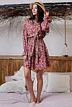 1324/7 Женское повседневное штапельное платье разные цвета, фото 5