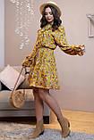 1324/7 Женское повседневное штапельное платье разные цвета, фото 7