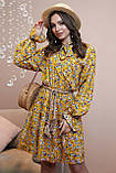 1324/7 Женское повседневное штапельное платье разные цвета, фото 6