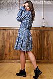 1324/7 Женское повседневное штапельное платье разные цвета, фото 10