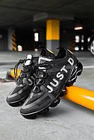 Кросівки чоловічі весняні осінні якісні модні Найк Air VaporMax 2019 Black, фото 1