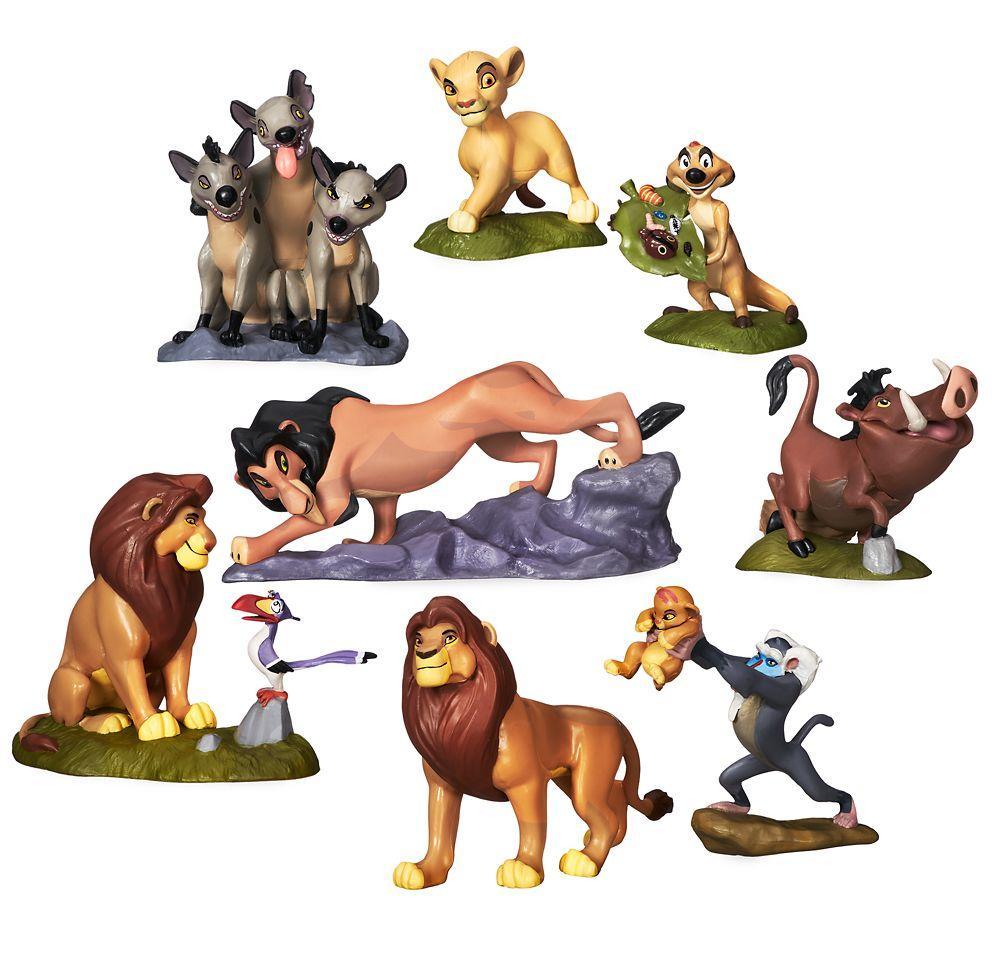 Набор фигурок Король Лев Дисней Deluxe Disney
