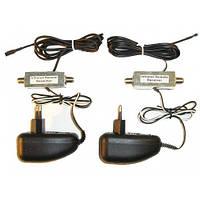 Устройство управления командами пульта ДУ по кабельной разводке 11МГц