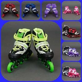 Ролики 1001 Best Rollers розмір 30-33 PU колеса + сумка