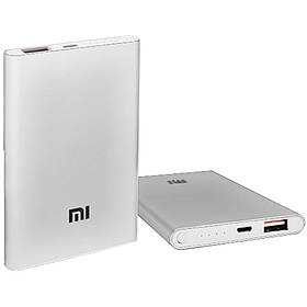 Power Bank Xiaomi Mi 5000 mAh индикатор заряда 3600 mAh