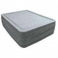 Надувная кровать двухспальная 203*152*56 см со встроенным насосом Intex 64418