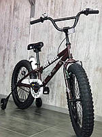 Детский двухколесный велосипед FREE WHEEL 20 Coffee, фото 1