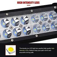 Автофара LED на крышу (66 LED) 5D-198W-MIX ( 775х80х68) / Фара светодиодная автомобильная, фото 7