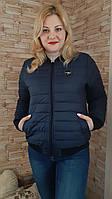 Женская Куртка бомбер  демисезон (42-52), доставка по Украине