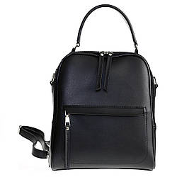 Сумка-рюкзак женский городской Betty Pretty из экокожи 960KBLK