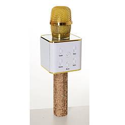 Мікрофон Q7 Lux золотий