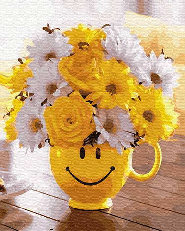 Картина по номерам Букетик счастья GX34186 40x50см. Brushme, фото 2
