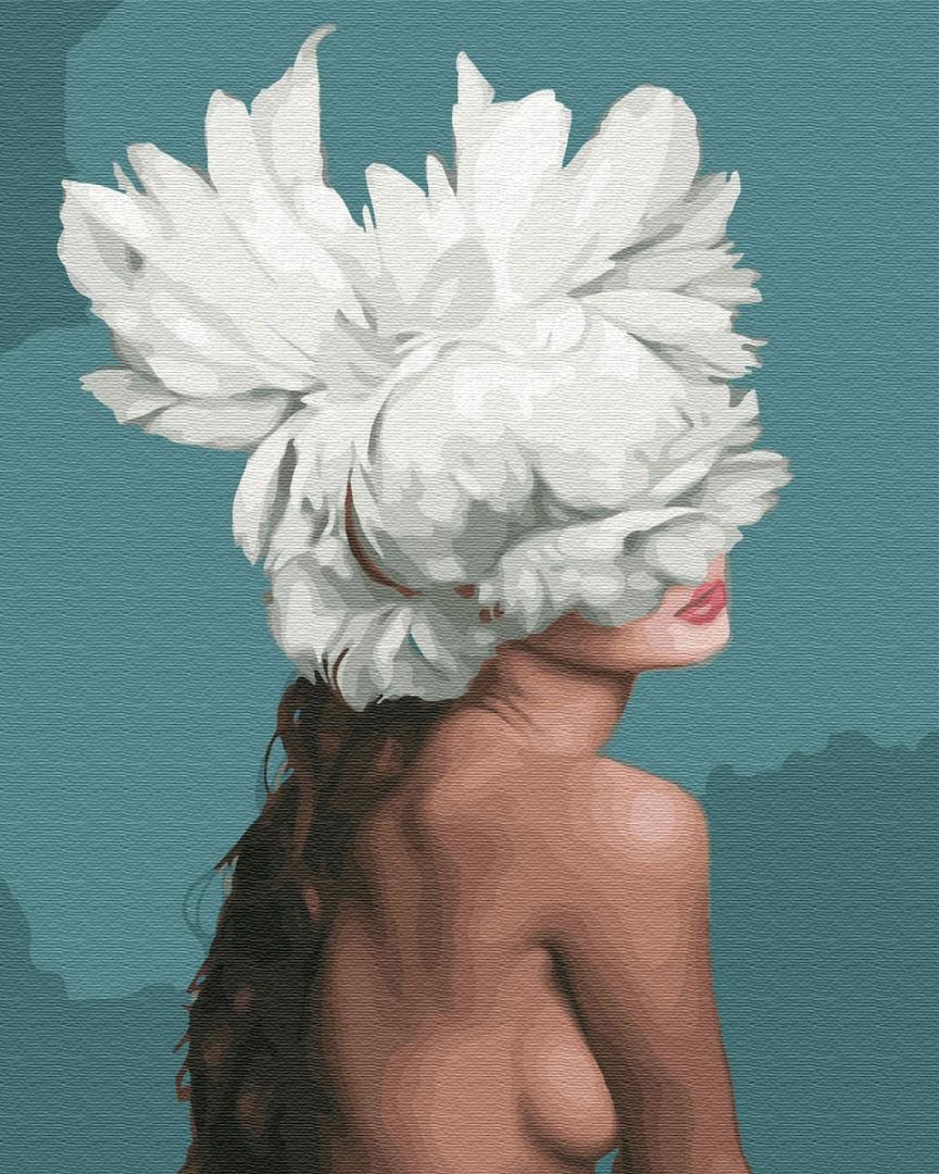Картина по номерам Она - цветок GX34176 40x50см. Эми Джадд Brushme