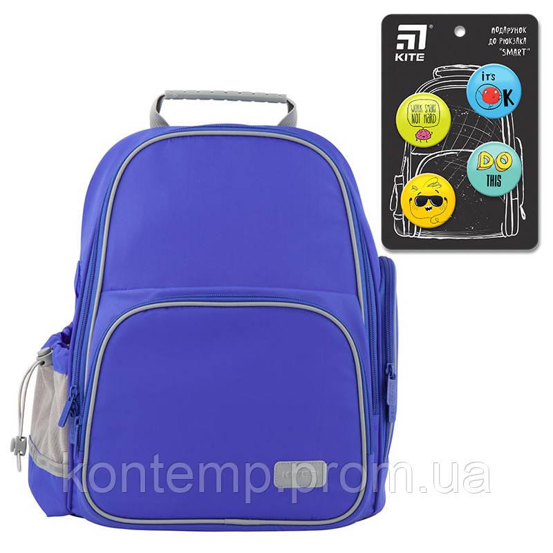 Рюкзак шкільний каркасний Kite Education K19-720S-2 Smart синій