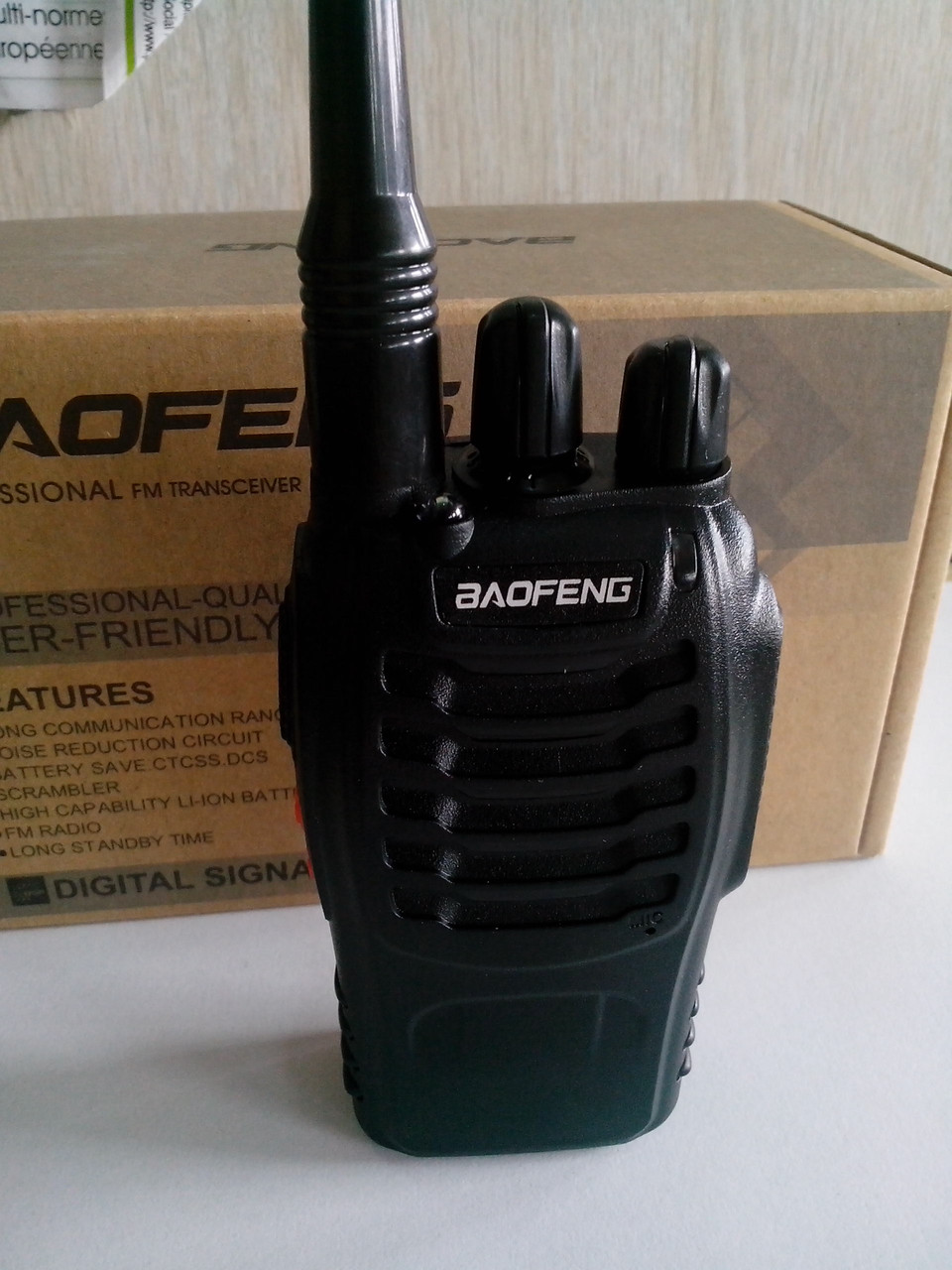 Радиостанция Baofeng BF-888s + усиленная антенна 771