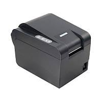 Термо принтер этикеток ценников и чеков Xprinter XP235B 58 мм