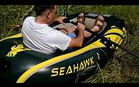 Надувная лодка Intex 68345 SeaHawk1 Одноместная, фото 3