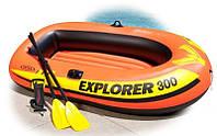 Детская надувная лодка Explorer 100 Pro Intex 58355, фото 4