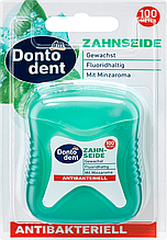 Зубна нитка антибактеріальна Dontodent Zahnseide antibakteriell