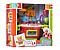 Игровой детский набор кухня.Детская интерактивная кухня.Игрушка кухня. Оранжево- красный, фото 3