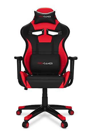 Геймерское компьютерное кресло AGURI для игрока красный, фото 2
