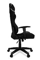 Геймерское компьютерное кресло AGURI серый, фото 2