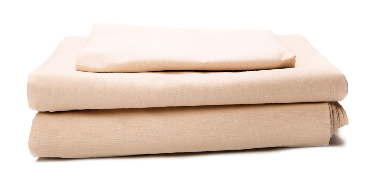 Комплект постельного белья Бязь 140 г/м2 Двуспальный Евро BEIGE