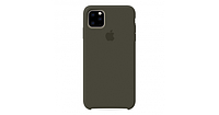 Чехол Apple Silicone Case  для iPhone 11 Pro Dark Olive Оливковый