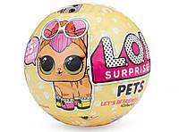 "Набор кукол ""LOL 712 Surprise Pets"" в шарике 3шт, фото 2"