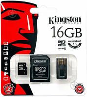 Карта памяти microSD Kingston MBLY10G2 - 16 Gb