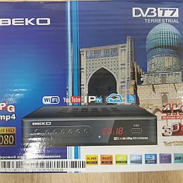 Цифровой тюнер Т2 BEKO с ip-tv и YouTube