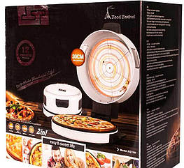 Печь для пиццы и хлебопечка 2в1 dsp KC1101