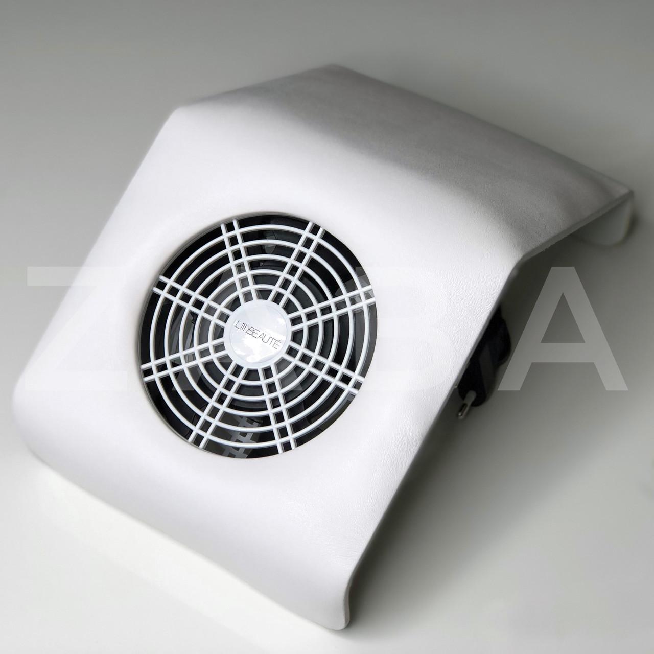 Настольная вытяжка (пылесос) Nail Dust Collector на 30 Вт, белая