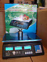 Электронные торговые весы ACS-40 до 40 кг